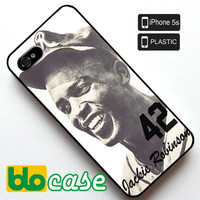 Jackie Robinson Iphone 5S Plastic Case