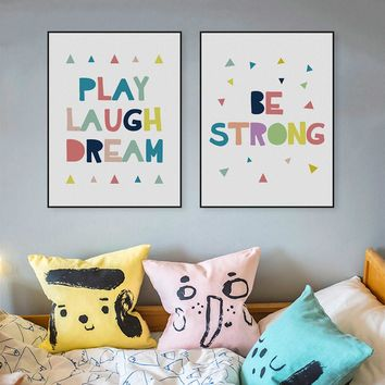 Motivation Quotes Kids Poster