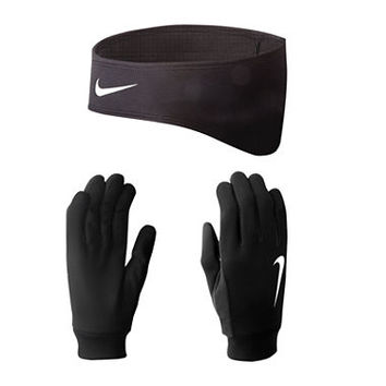 Nike® Running Thermal Headband and Gloves Set