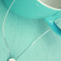 Miniature Silver Turtle Necklace