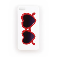 iPhone 5/5s Case - Heart Shaped Sunnies