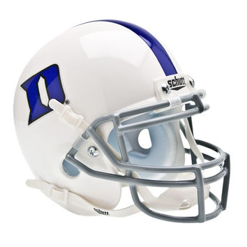Duke Blue Devils NCAA Authentic Mini 1-4 Size Helmet