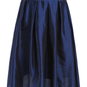 Best Satin Pleated Skirt Products on Wanelo