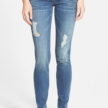 Junior Women's STS Blue 'Piper' Distressed Skinny Jeans ,