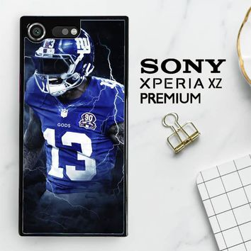 Odell Beckham Jr New York Giants X5642 Sony Xperia XZ Premium Case