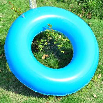 Pool Float Swimming Ring Inflatable Cartoon Double Layer Pool Float Baby Infant Toddler Kids Children Water Fun Pool Toy