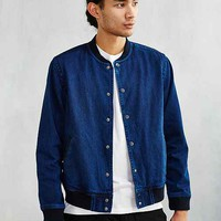 CPO Overdyed Denim Bomber Jacket