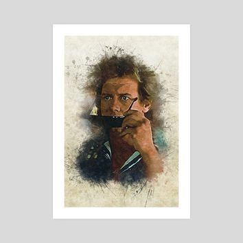 They Live - Roddy Piper, an art print by Dusan Naumovski