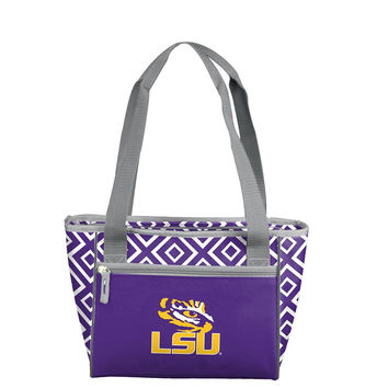 LSU Tigers NCAA 16 Can Cooler Tote