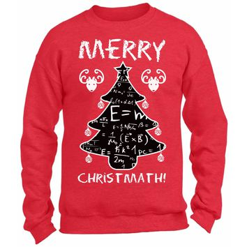 Merry Christmas Math Funny Christmas Sweater