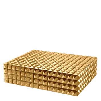Gold Storage Box (L) | Eichholtz Vivienne