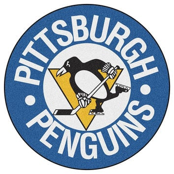 Pittsburgh Penguins NHL Puck Mat (29 diameter)