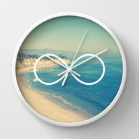 Forever Summer California Infinity Wall Clock by RexLambo