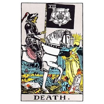 Death Tarot Card Poster 11x17