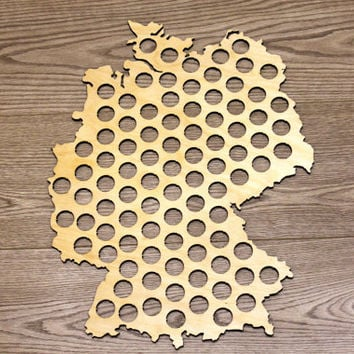 Best Beer Cap Maps Products On Wanelo - Germany beer cap map