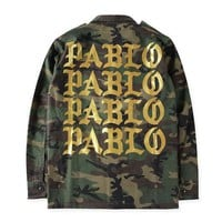 Life of Pablo Military Camouflage Jacket
