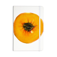 "Theresa Giolzetti ""Peach"" Orange White Everything Notebook"