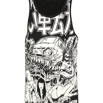 Iron Fist Shinjuku Men's Graphic Tank