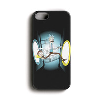 "Apple Iphone 5c 4.0"" Case - The Best 3d Full Wrap Iphone Case - Rick And Morty"