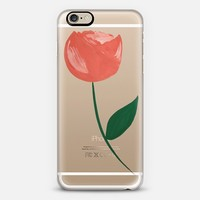Sonni & Blush Single Flower iPhone 6 case by Sonni S | Casetify
