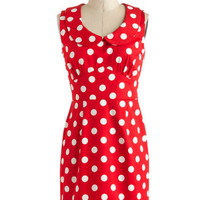 The Cherry on Dot Dress