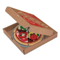 Melissa & Doug Felt Food Pizza Set (Cardboard)