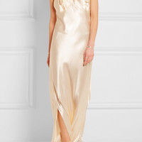 Calvin Klein Collection - Gadow embellished satin gown