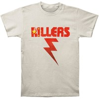 Killers Men's  China Flag Bolt T-shirt White