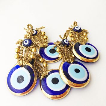 Evil eye wall hanging, unique wedding favors, wedding favors for guests, evil eye decor