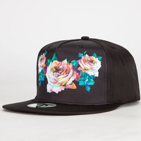 Blvd The Case Mens Snapback Hat Black One Size For Men 24425010001