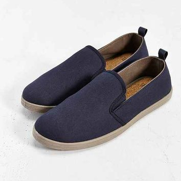 Rosin Slip-On Sneaker- Navy