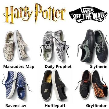 VANS X HARRY POTTER Men shoes Women Sneakers Ready Stock