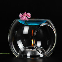 Transparent Glass Oil Warmer