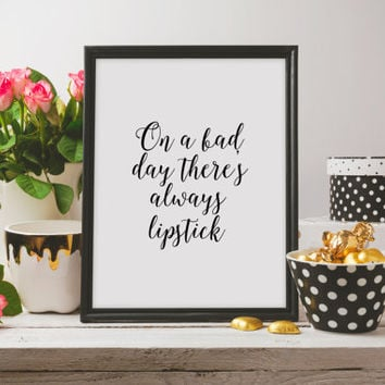 Fashion quote Inspirational poster Motivational quote Fashion art Fashion quote Printable poster Instant download Letterpress style Word art