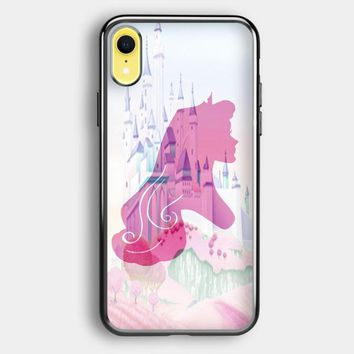 Silhouettes Of Princess Aurora iPhone XR Case | Casefruits