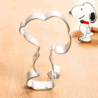 Cartoon Dog Metal Stainless Steel Bi Cookie Cutters Biscuit Mold Cake Decoration Sugar Baking Mould