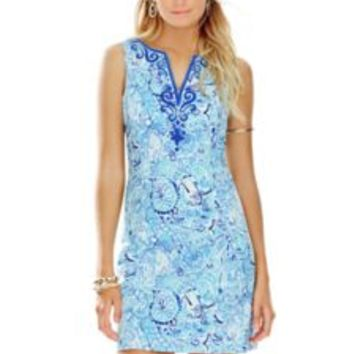 Lyssa Notch Neck Shift Dress - Lilly Pulitzer
