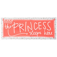 The Princess Sleeps Here Canvas Art | Hobby Lobby | 304451