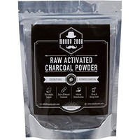 Activated Charcoal Powder by Moody Zook - Premium Food Grade Raw Organic Coconut Carbon Bulk - More Effective than Hardwood Charcoal - Natural Teeth Whitening, Detox, Digestion, Skin Care, Anti Aging