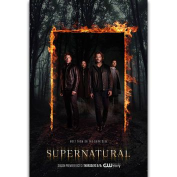 S1261 The CW Fantasy Horror Supernatural HQ Hot TV Series Show Wall Art Painting Print On Silk Canvas Poster Home Decoration