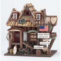 Wagon Wheel Restaurant Bird House