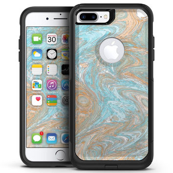 Slate Marble Surface V28 - iPhone 7 or 7 Plus Commuter Case Skin Kit