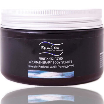 ROYAL SEA Dead Sea Minerals Body Butter lavender patchouli vanilla for normal, dry, very dry skin Body Sorbet 250ml