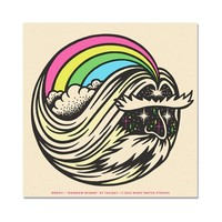 Rainbow Wizard Art Print