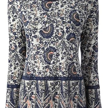 Tory Burch Floral Print Top