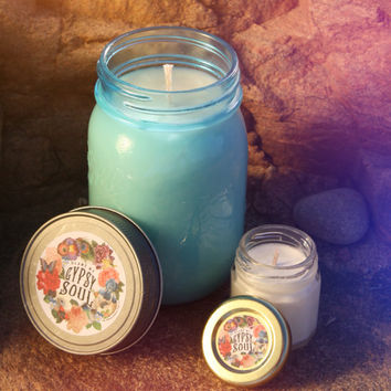 GYPSY SOUL, Candles, Nag Champa candle, Hand Poured Soy Candles, Boho Gypsy, Nag Champa Oil