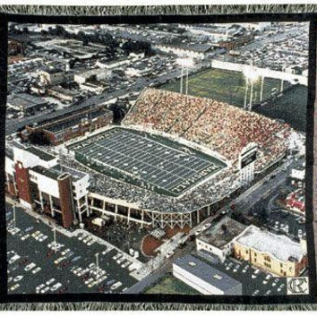 Throw Blanket - Marshall University Stadium
