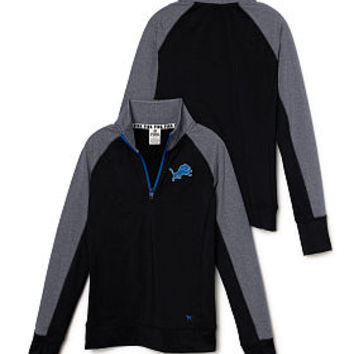 Detroit Lions PINK Ultimate Half-Zip - PINK - Victoria's Secret