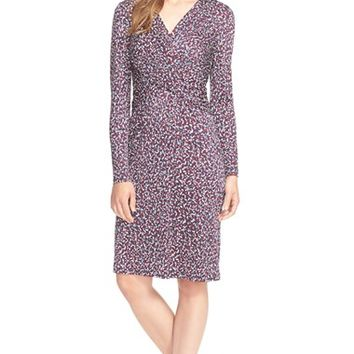Women's Tory Burch Twist Print Silk Dress,