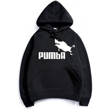Autumn Winter Men Hoodies Simba Pumba Drake Hooded Sweatshirts Streetwear Custom High Quality Long Sleeve Hoodies Clothing